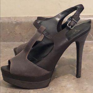 Jessica Simpson Slingback Platform Heels